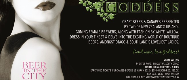 Hop Goddess - An Evening of Beer and Style