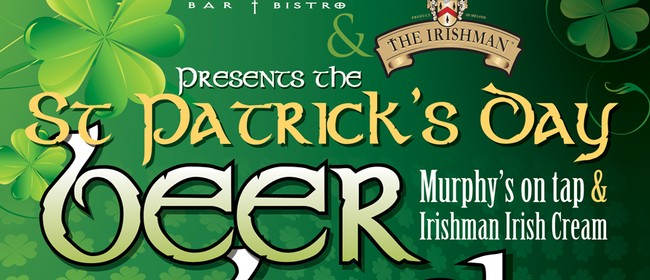 St Patrick's Day Beer Bash