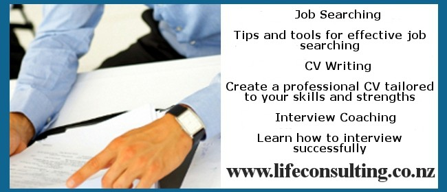 Job Search, CV Writing & Interview Coaching