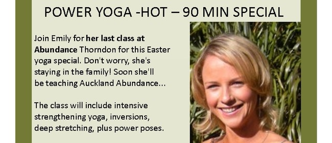 Easter Yoga Special Session