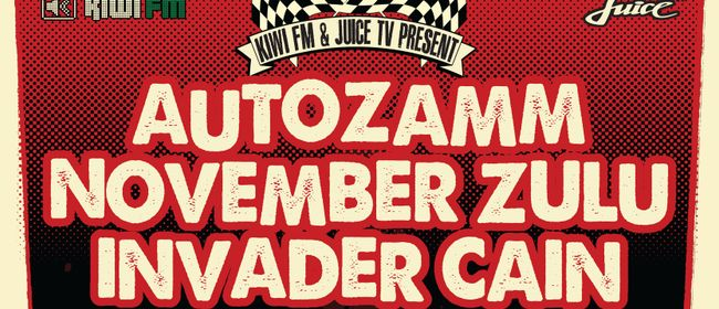 Autozamm, November Zulu, Invader Cain