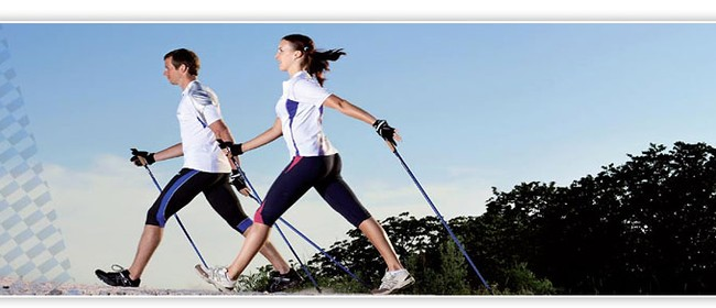 Nordic Walking Fitness Class