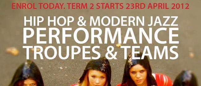 Hip Hop Performance Team 1 - 8-11yrs