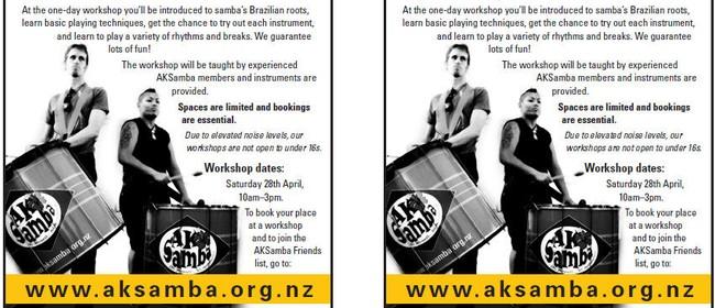 Intro to Samba Percussion