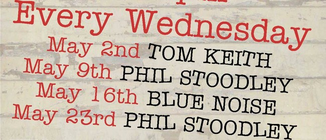 Live Music Wednesday - Phil Stoodley