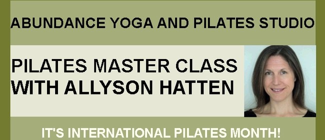 Pilates Master Class with Allyson Hatten