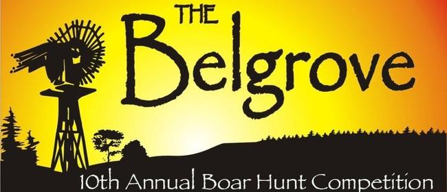 The Belgrove 10th Annual Boar Hunt Competition