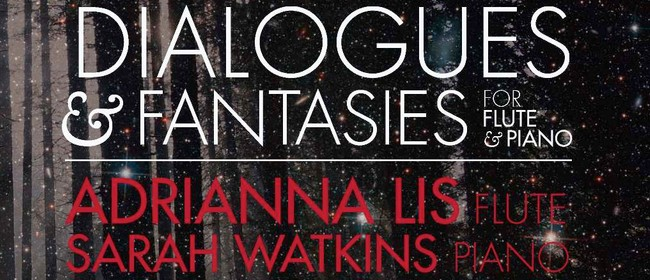 Dialogues & Fantasies for Flute and Piano