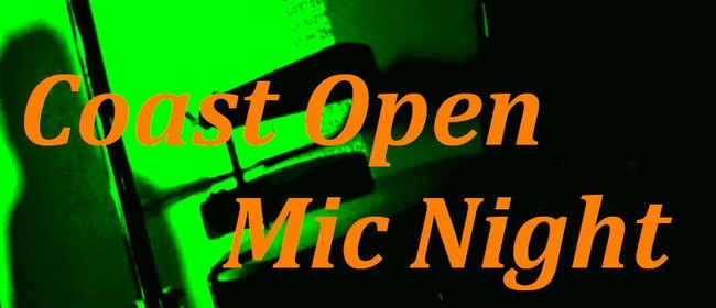 Coast Open Mic Night