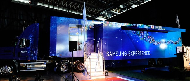 Samsung Experience Truck