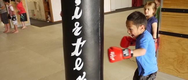 Kids' Kick Butt Kickboxing Class