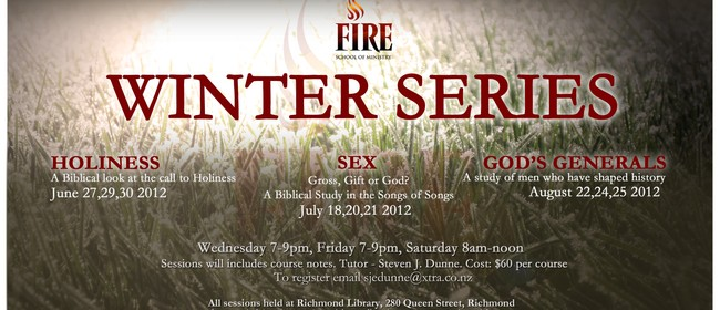 Fire School of Ministry