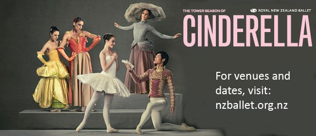 The TOWER Season of Cinderella: Royal New Zealand Ballet