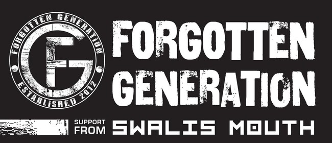 Forgotten Generation EP Release All Ages Show