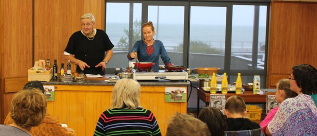 Hare Krishna Vegetarian Cooking Demonstration