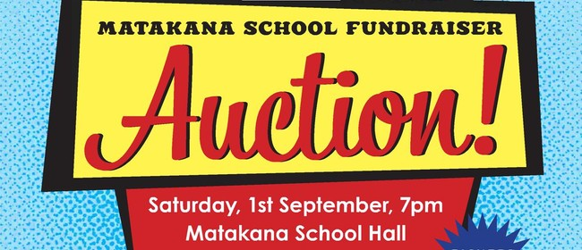 Matakana School Auction Evening