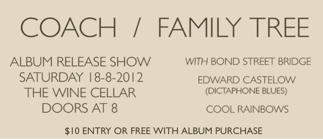 Coach - Family Tree Album Release