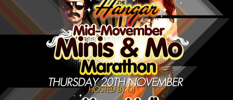The Hangar Mid-Movember Minis and Mo Marathon