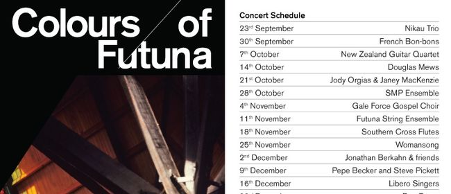 Colours of Futuna Concert Series