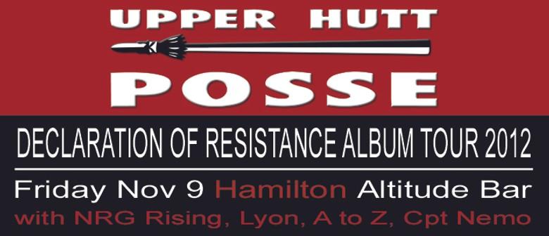 Declaration Of Resistance Album Tour 2012