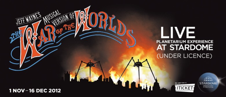 The War of The Worlds - A Live Planetarium Experience