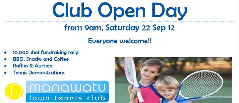 Manawatu Lawn Tennis Club - Open Day