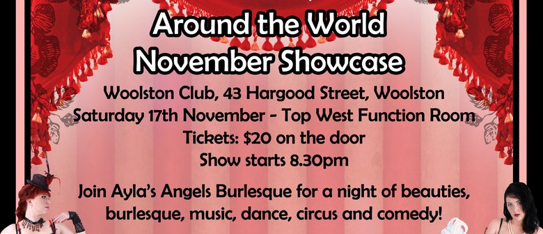 Ayla's Angels Burlesque - Around the World