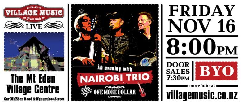 Nairobi Trio & Friends in Soirée