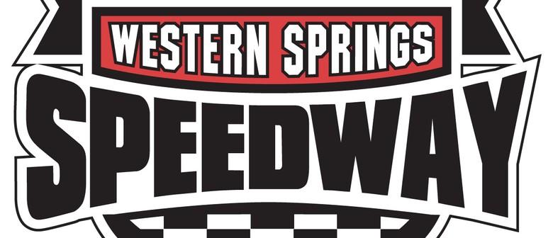 Western Springs Speedway - Sprintcars, Midgets, TQs