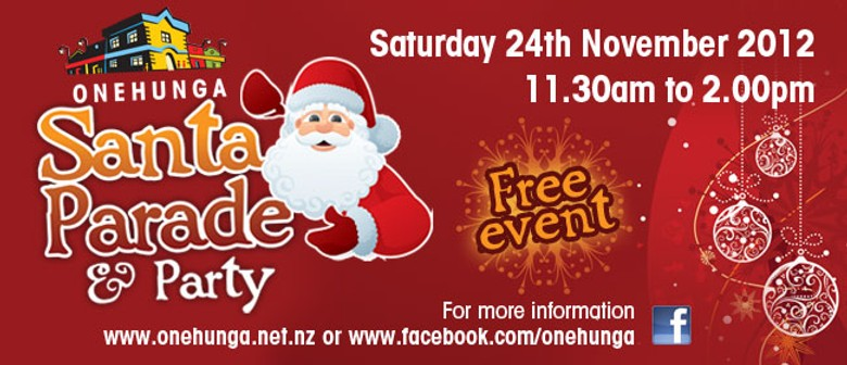 Onehunga Santa Parade & Party