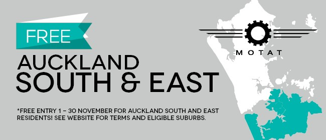 MOTAT Auckland South & East Appreciation Month