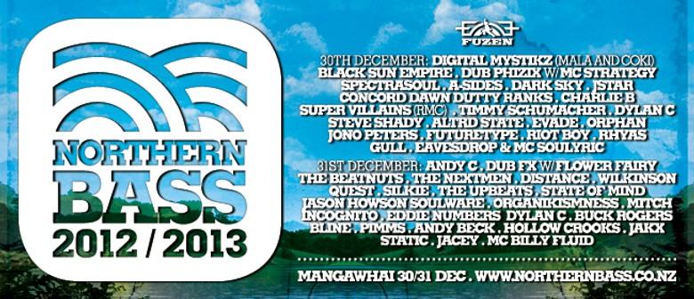 Northern Bass NYE Festival 2012