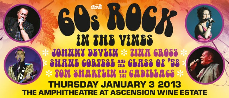 60's Rock in the Vines: CANCELLED