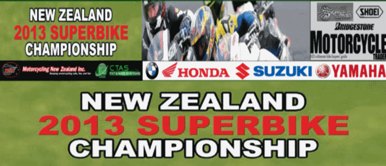 NZ Superbike Road Race Championship RD1 & NZGP 2013