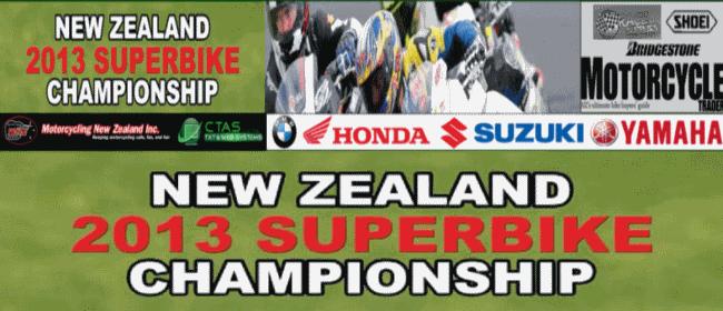 NZ Superbike Road Race Championship RD1 & NZGP 2013