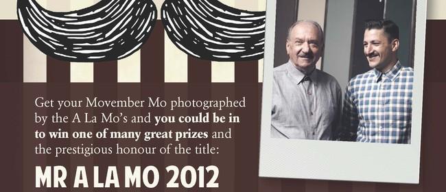 Movember Fundraising - Have Your Photo Taken & Be In to Win