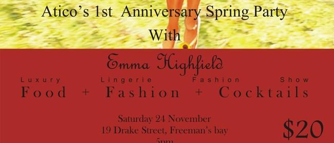 Atico's Fashion Show Anniversary Party