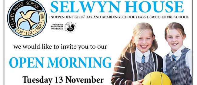 Selwyn House Open Morning