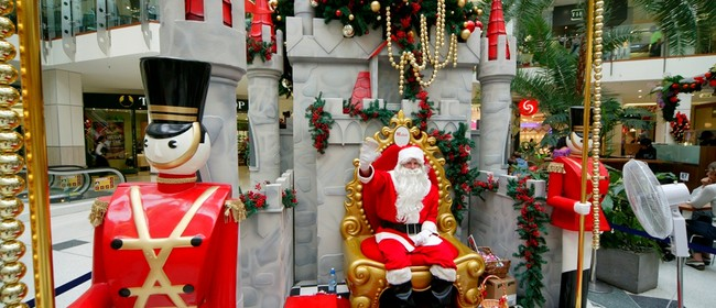 Westfield Manukau City Santa's Arrival
