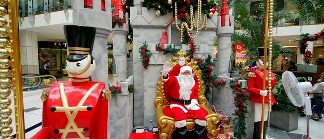 Westfield Riccarton Santa's Arrival