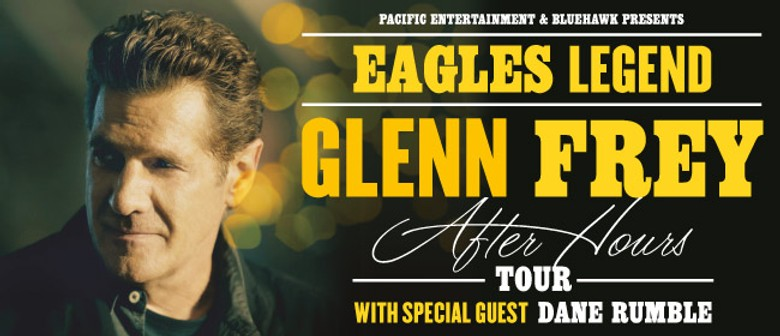 Eagles Legend Glenn Frey