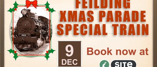 Santa Steam Train Special to Feilding Christmas Parade