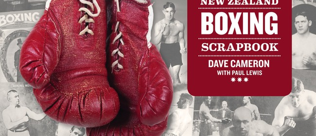 The NZ Boxing Scrapbook Author Signing with Shane Cameron