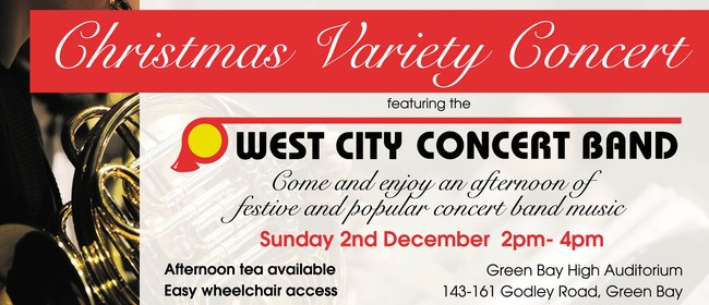 Christmas Variety Concert with West City Concert Band