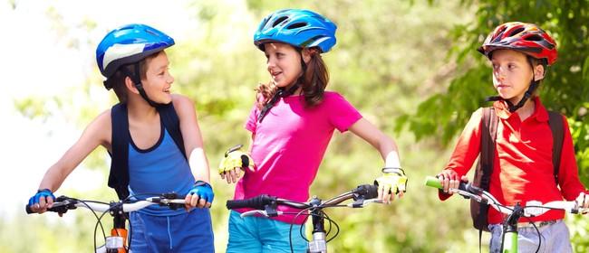 Mountain biking at Totara Park