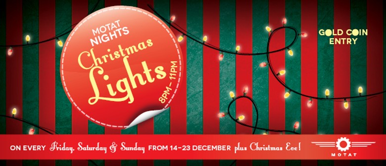 MOTAT Nights Christmas Lights