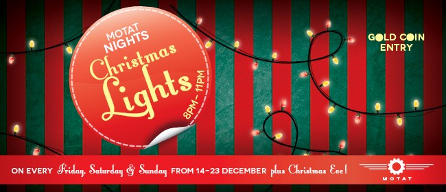 MOTAT Nights Christmas Lights