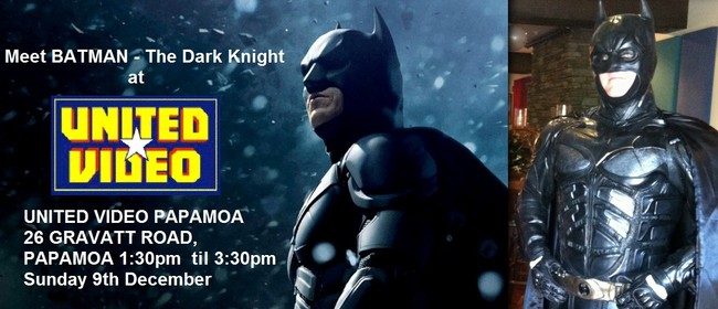 Meet Batman - The Dark Knight at United Video