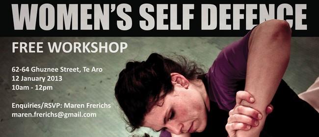 Free Women's Self Defence Workshop