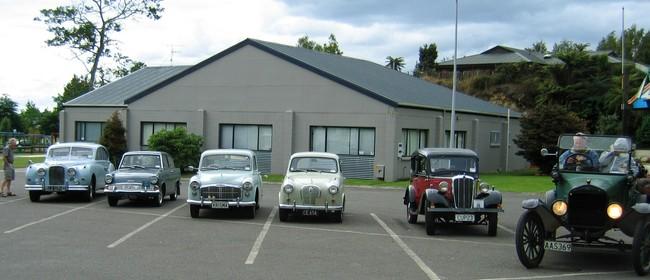 Rotorua Vintage Car Club Car Display